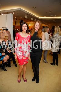 Nina Snow, Amanda Polk, December 4, 2011, Saks Jandel Fashion Show Benefiting Children's National Medical Center.