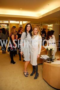 Amy Baier,Carrie Marriott, December 4, 2011, Saks Jandel Fashion Show Benefiting Children's National Medical Center.