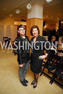 Christian Siriano, Constance Christakos, December 4, 2011, Saks Jandel Fashion Show Benefiting Children's National Medical Center.
