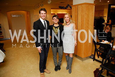Luke Rozansky  ,Christian Siriano,Cindy Jones, December 4, 2011, Saks Jandel Fashion Show Benefiting Children's National Medical Center.