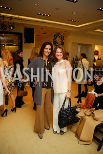 Paige McKenzie,Debbie Copito, December 4, 2011, Saks Jandel Fashion Show Benefiting Children's National Medical Center.