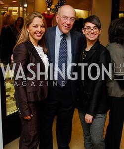 Katherine Vernot-Jonas,Kurt Newman ,Christian Siriano, December 4, 2011, Saks Jandel Fashion Show Benefiting Children's National Medical Center.