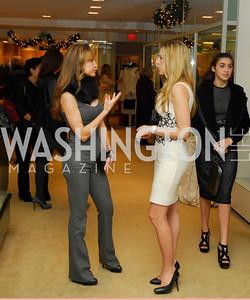 Jocelyn Grenan, Amy Donnelly, December 4, 2011, Saks Jandel Fashion Show Benefiting Children's National Medical Center.