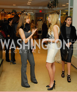 Jocelyn Grenan, Amy Donnelly, December 4, 2011, Saks Jandel Fashion Show Benefiting Children's National Medical Center.