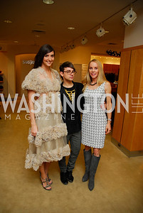 Kate Michel  ,Christian Siriano,Cindy Jones, December 4, 2011, Saks Jandel Fashion Show Benefiting Children's National Medical Center.