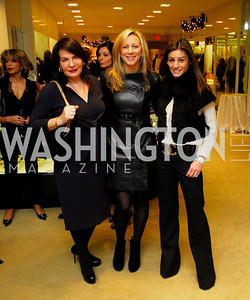 Anna Trone,Jean -Marie Fernandez,Karen Donnatelli, December 4, 2011, Saks Jandel Fashion Show Benefiting Children's National Medical Center.