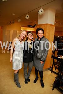 Cindy Jones  ,Christian Siriano, Grace Bender, December 4, 2011, Saks Jandel Fashion Show Benefiting Children's National Medical Center.