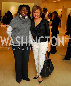 Laura Branker,Cheryl Cooper, December 4, 2011, Saks Jandel Fashion Show Benefiting Children's National Medical Center.