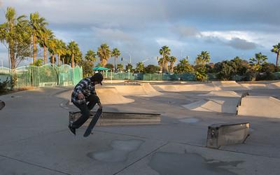 San Diego River Trail SkatePark-7391