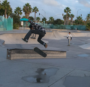 San Diego River Trail SkatePark-7435