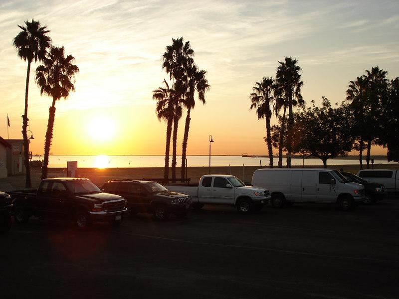 Cabrillo Beach Launch Ramp, San Pedro 7:45am