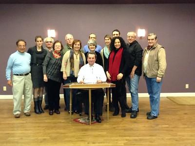 Santour Concert, Armenian Church of Austin, TX, January 11, 2015