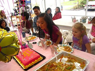 Sarena's 7th Birthday