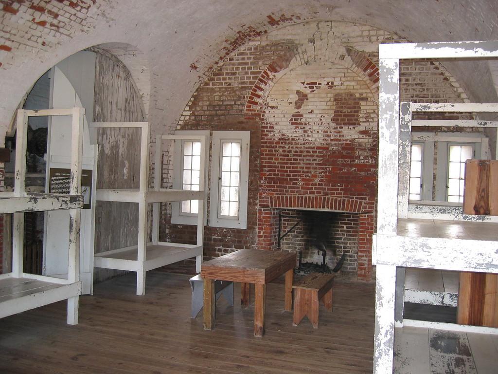 Barracks at Fort Pulaski
