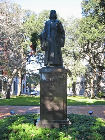 Statue of John Wesley