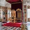 Danish thrones at Rosenborg Slott