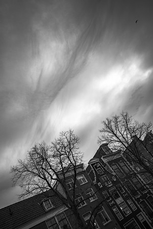 BW Clouds in Amsterdam