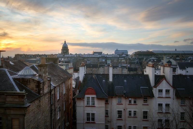 Edinburgh Morning from High St