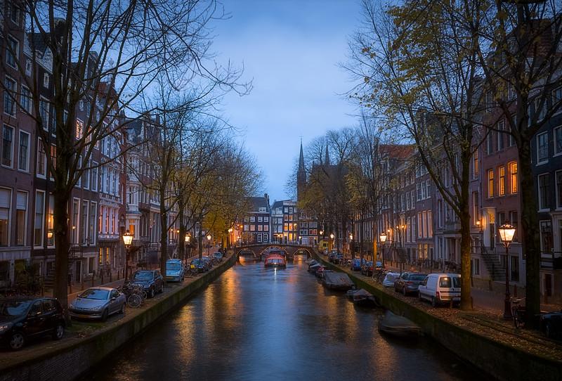 Boat in the Canals