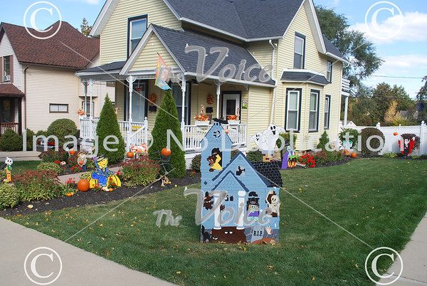 Scarecrow Fest in St. Charles, Ill 10-7-12