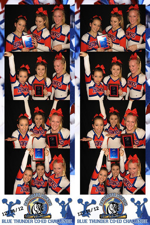 Belvidere North High School Co-Ed Cheer Competition December 14, 2012
