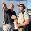 John P. Cleary | The Herald Bulletin<br /> Large ground search with volunteers for missing person Larry Tucker.