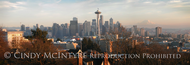Seattle Kerry Park pano Jan 2017