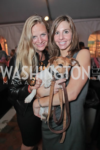 Christy Schlesinger, Tara de Nicolas with Tinsley. Second Annual Passport to Style Fall Fashion Showcase and Charity Event. The Shops at Wisconsin Place. October 13, 2011. Photo by Alfredo Flores