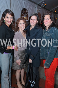 Dana Cruz, Laurie Edberg, MaryJo Slidett, Ann Wagnblas. Second Annual Passport to Style Fall Fashion Showcase and Charity Event. The Shops at Wisconsin Place. October 13, 2011. Photo by Alfredo Flores
