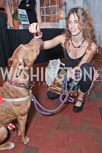 Kirsten Stade with Sandy. Second Annual Passport to Style Fall Fashion Showcase and Charity Event. The Shops at Wisconsin Place. October 13, 2011. Photo by Alfredo Flores