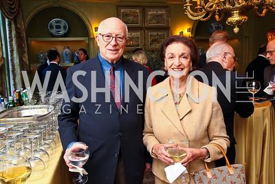 Joe Duffey and Lucky Roosevelt. Senator Scott Brown Book Party. Photo by Tony Powell. Berman residence. April 6, 2011