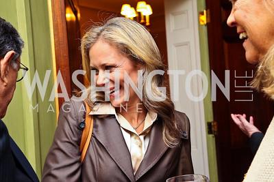 Deborah Lehr Rogers. Senator Scott Brown Book Party. Photo by Tony Powell. Berman residence. April 6, 2011