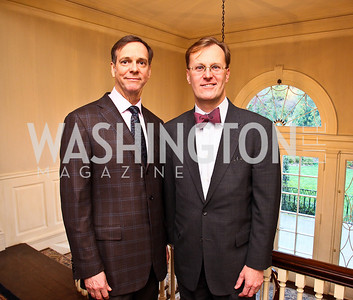 John Jeter, Paul Tetreault. Senator Scott Brown Book Party. Photo by Tony Powell. Berman residence. April 6, 2011