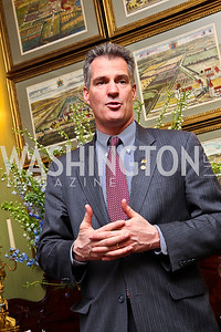 Senator Scott Brown. Senator Scott Brown Book Party. Photo by Tony Powell. Berman residence. April 6, 2011