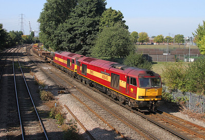 60045 Millbrook 05/09/13 6O41 Westbury to Eastleigh with 60049