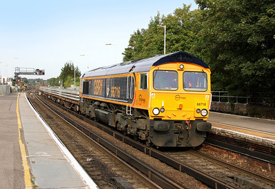 66716 Basingstoke 01/09/13 6G19 Eastleigh to Godstone