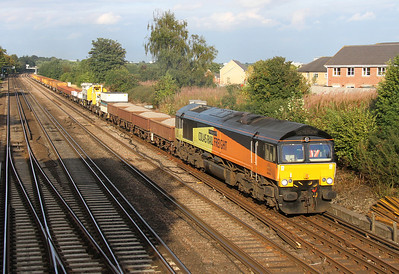 66850 Worting Junction 12/09/13 6Y42 Hoo Junction to Eastleigh