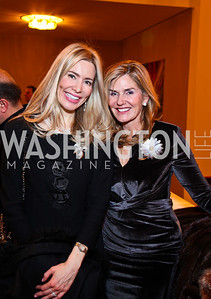 Pia Maria Norris, Laura Gerson. Shen Yun After Party. Photo by Tony Powell. Kennedy Center. January 25, 2011