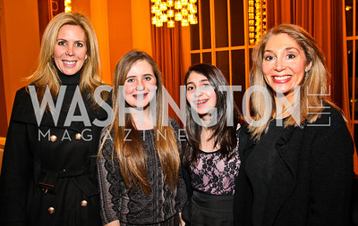 Michelle and Alexis Schoenfeld, Lndsay and Janet Pitt. Shen Yun After Party. Photo by Tony Powell. Kennedy Center. January 25, 2011