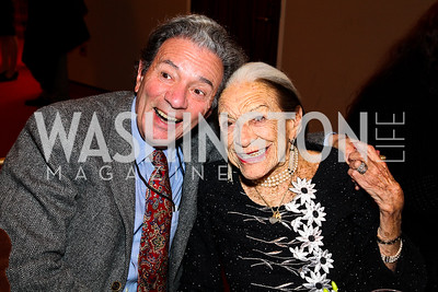 Charles Silverman, Lolo Sarnoff. Shen Yun After Party. Photo by Tony Powell. Kennedy Center. January 25, 2011