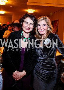 Lydia Borland, Laura Gerson. Shen Yun After Party. Photo by Tony Powell. Kennedy Center. January 25, 2011