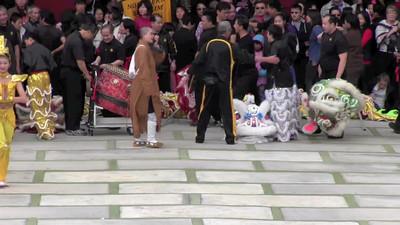 2013 Chinese New Year - Thousand Hand Guan Yin Dance Performance