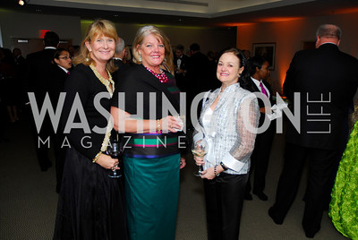 Laurie Farr,Kate Burke,Maryann Montgomery,October 29,2011,Sibley Hospital Hope And Progress Gala,Kyle Samperton
