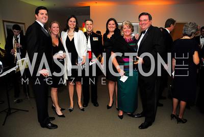 Vince Burke,Jen BurkeMeghan Burke,Alex CrossJulie Burke,Kate Burke,Vince Burke,October 29,2011,Sibley Hospital Hope And Progress Gala,Kyle Samperton