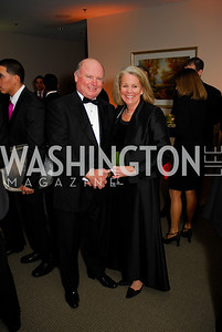 David Bates,Marguerite Nealon,October 29,2011,Sibley Hospital Hope And Progress Gala,Kyle Samperton