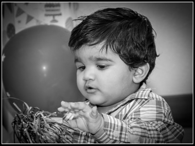 Siddhant First Birthday