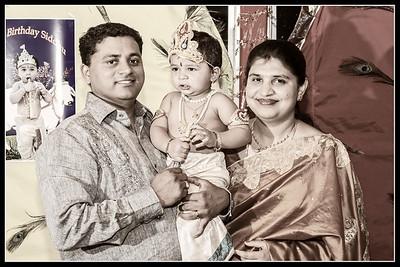 Siddu First Birthday