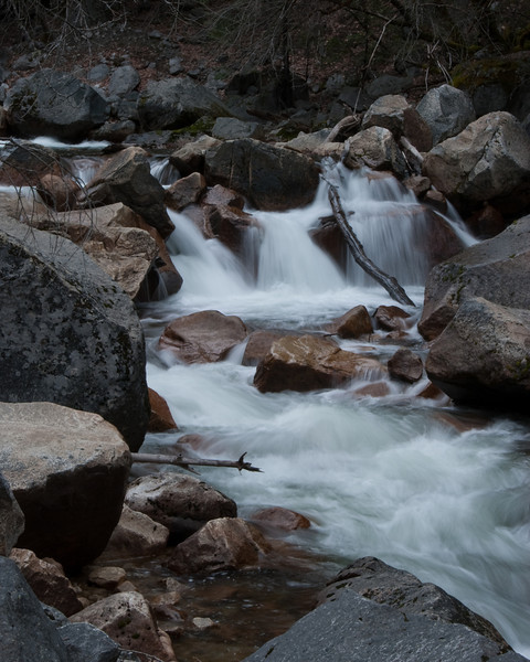 Tenaya Creek - Yosemite National Park