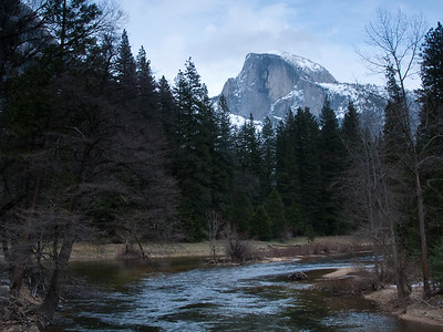 Half Dome in Winter - Yosemite National Park