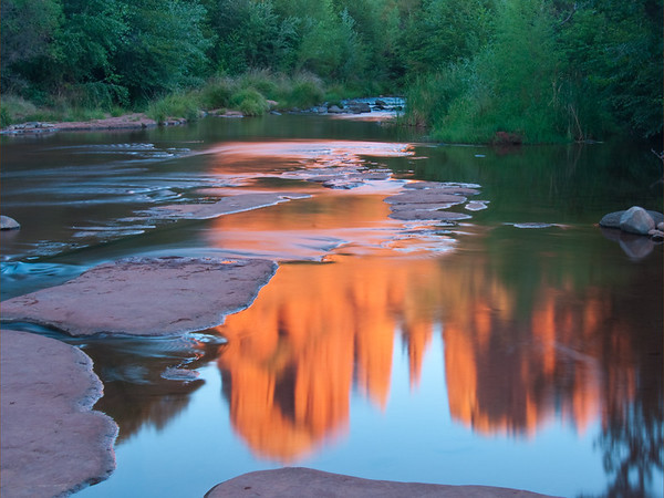 Red Rock Crossing Reflection - Sedona, Arizona